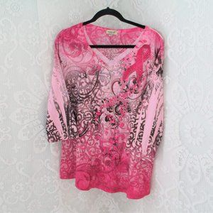 One world Pink Breast Cancer Blouse